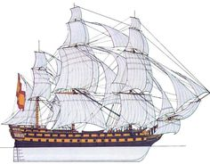 Navio San Genaro. Fue uno de los primeros navíos de 74 cañones construidos por el sistema de Jorge Juan. Construido por Eduardo Briant. La puesta en quilla del San Genaro supuso el abandono de la construcción de navíos más pequeños (entre 50 y 66 cañones), para establecer en la Real Armada el navío de 70 cañones como estándar, posteriormente de 74 a partir de 1780. Estos modelos fueron superiores a los construidos posteriormente por Gautier. El San Genaro fue construido en Cartagena en 1765.