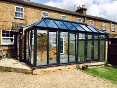Glass to Ground Conservatory