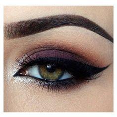ღ Makeup Look ft. Chocolate Bar Palatte ღ ❤ liked on Polyvore featuring beauty products, makeup and eye makeup
