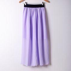 Summer Style Long Maxi Skirts