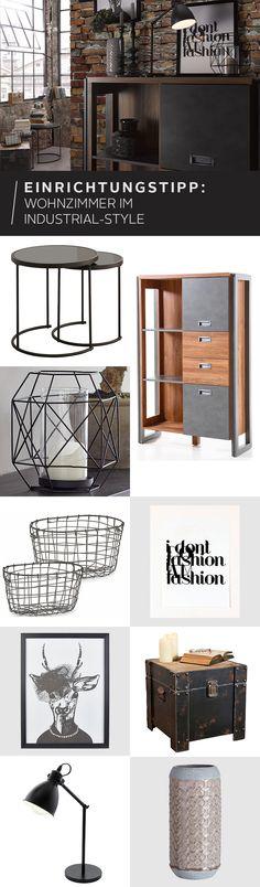 Roh. Charmant. Vintage! Der Industrie-Stil begeistert mit seinem unvergleichlichen Mix aus Metall, Holz und rustikal-funktionalen Gegenständen. Hier findest du ein wenig Inspiration für deine moderne Wohnatmosphäre.