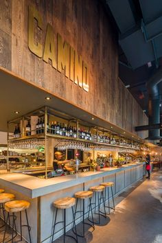 Fabulous new reclaimed style Broadleaf wall cladding at the stunning new…