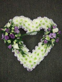 Open Heart Funeral Arrangement   Bing Images Photo Gallery
