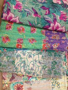 Beautiful patterns and quilts.