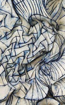 Paper sculpture by Peter #Gentenaar (details).