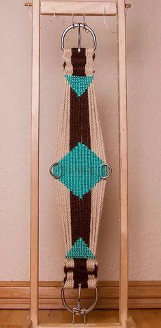 Custom roper cinch made by Runnin R Custom Cinches