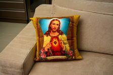 Capa de almofada Sagrado Coração de Jesus