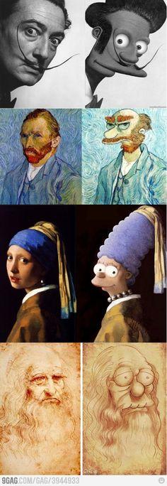 Simpsons Art