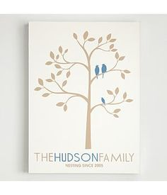Very cute personalized family wall decor.