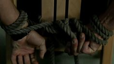 He couldn't feel his legs, but his hands were more than ready to tug at the ropes. He needed to escape. Quickly.