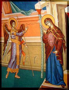 Το νέο νηπιαγωγείο που ονειρεύομαι : 25η Μαρτίου στο νηπιαγωγείο  ((The Annunciation of the Theotokos 25th March, also my Mother's Name Day. ))