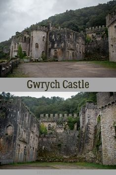 Gwrych Castle is an awesome castle ruin to explore located near the town of Abergele in North Wales and managed by Gwrych Castle Preservation Trust. Castle Ruins, Medieval Castle, Wales Castle, How Lucky Am I, Laundry Hacks, Cymru, Days Of The Year, North Wales, Abandoned