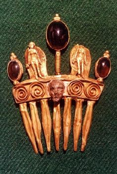 Hair Combs from the Parthian and Sasanian Empires of Ancient Persia   Barbaraanne's Hair Comb Blog