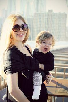 the sling diaries: belle and biet babywearing connection! #sakurabloom