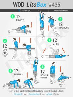 Circuit training au poids du corps en moins de 30 minutes. Épinglez cet entraînement pour le réaliser plus tard ! Pierre.