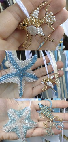 Beads, Beaded starfish, Beaded Fish, сzech beads, Blue, Sea Dream catcher, Boho Dreamcatcher, Wedding decor, Mobile, Bohemian,Nursery decor #Beads #Beaded_starfish #Beaded_Fish #сzech_beads #Blue #Sea #Dream_catcher #Boho #Dreamcatcher #Wedding #decor