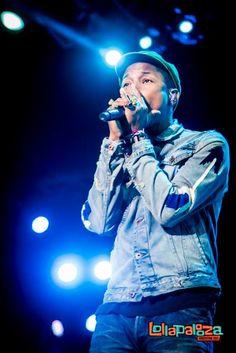 Pharrell Williams Lollapalooza Argentina2015