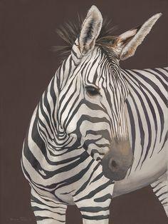 Looking Left (Chapman's Zebra)