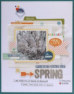 Scrapbooking Inspiration Blog | Scraptastic Club - Use a glassine bag for layering