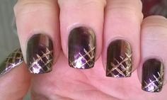 Elegant shiny 'Metal Flip' #nailart https://www.youtube.com/watch?v=9fU-nY-R9SA