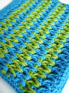 Crochet: Pretty zig-zag stitch