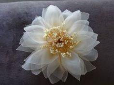 Organza Flower ✄ Цветок из органзы (Мастер класс) ✄ https://www.youtube.com/watch?v=yTHlFY5Hzdc