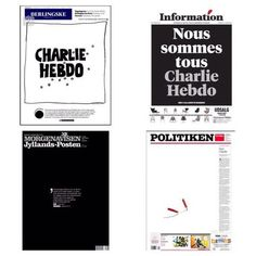 Danish newspapers on Charlie Hebdo attack.