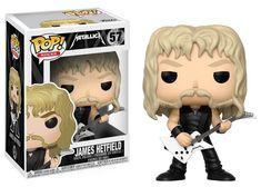 Funko POP! Rocks Metallica 57 James Hetfield Vinyl Figure Metal Music Figurine