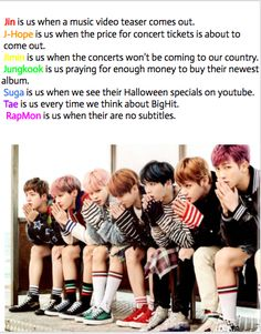 And BTS is A.R.M.Y. every single day of their lives. ;)
