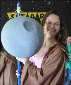 BEST Star Wars birthday party - with Death Star pinata!