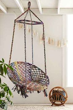 Swing Chair Marrakech Swing Chair From the ceiling. In my reading nook.Marrakech Swing Chair From the ceiling. In my reading nook. Outdoor Hammock, Hammock Chair, Swinging Chair, Diy Chair, Indoor Outdoor, Chair Swing, Indoor Swing, Papasan Chair, Chair Cushions