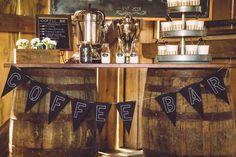 Coffee Themed Wedding Ideas, coffee bar banner