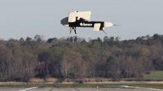 DARPA VTOL X-plane takes flight in miniature