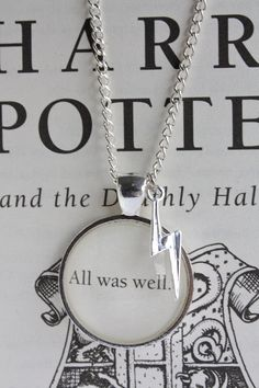 Harry Potter - all was well necklace