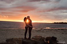 harkness eolia waterford dramatic sunset fall engagement shoot