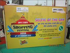 """Krishna Bhumi stall"" at ""Mega Bazzar"" shopping festival ."