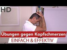 Was hilft gegen Kopfschmerzen // 3 einfache & effektive Übungen - YouTube