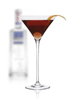 Satan's Whiskers - Halloween - orange juice, orange bitters, sweet vermouth, Cointreau, gin.