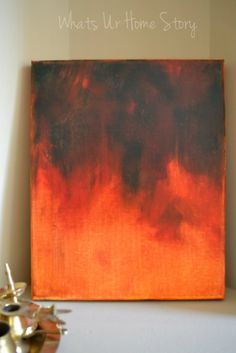 Abstract Acrylic Art - with instructions - DIY Art