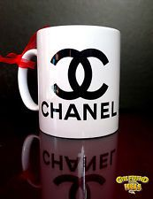 CHANEL Advertising coffee Mug Promotional cup Coco chanel