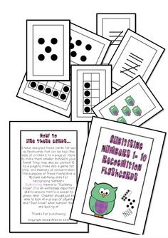 Home :: Subjects :: Mathematics :: Counting :: Subitising Numbers to 10 Math Made Easy, Numbers 1 10, Math Boards, Number Recognition, Early Childhood, Flashcard Games, Mathematics, Make It Simple, Hold On