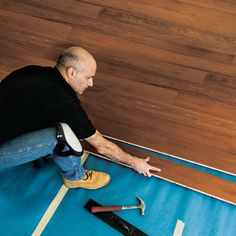 How to install wood flooring.