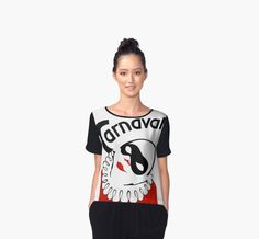 Retro Carnaval carnival clown by aapshop