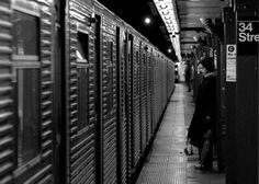 subway #girls #waiting