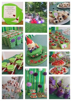 Ben and Holly party 5th Birthday Party Ideas, Girl 2nd Birthday, Fairy Birthday Party, Elmo Birthday, Birthday Cakes, Ben And Holly Party Ideas, Ben E Holly, Tinkerbell Party, Elves And Fairies