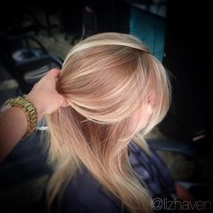"lizhavenhair@gmail.com on Instagram: ""#Strawberryblonde !  So so beautiful! I…"
