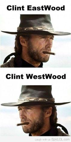 Clint Eastwood, Clint Westwood