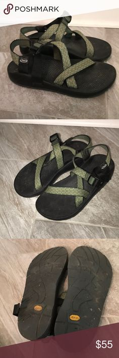 720ec685d96d67 CHACO Chaco Men s 11. Green Good condition Shoes Sandals   Flip-Flops Flip  Flop