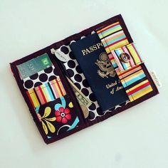 Ella Grace Traveler's Passport Wallet