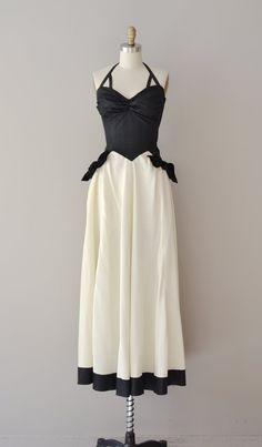 vintage 30s dress | Allegretto gown